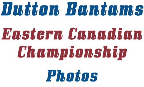 Bantam photos Eastern Canadian Championship 2018